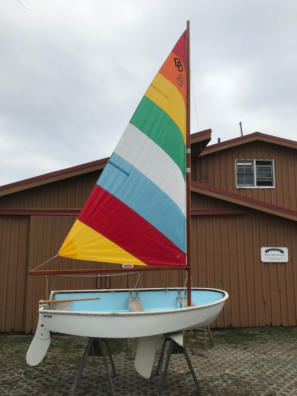Dyer Dhow dinghy with sailing rig - 1