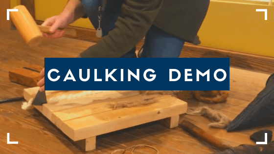 Caulking Demo Video Opens in new window