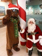 Santa and the Otter at Christmas Walk for website.jpg