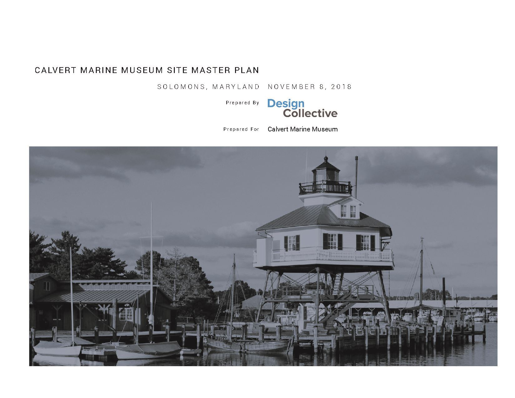 Calvert Marine Museum_Site Master Plan Report FINAL
