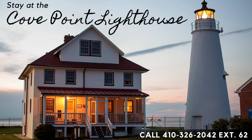 Stay at the Cove Point Lighthouse