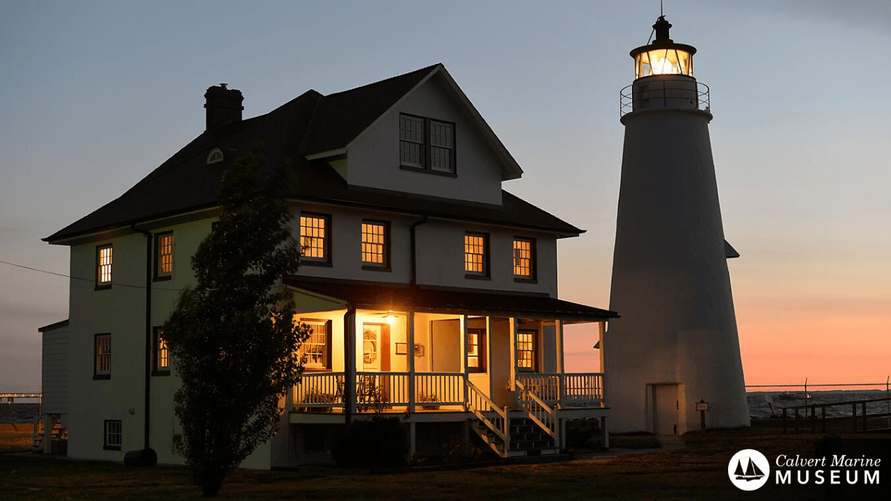 CMM Zoom Background - Cove Point Lighthouse