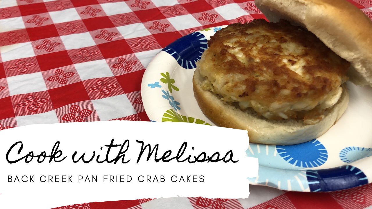 Crab Cakes with Melissa Video Opens in new window