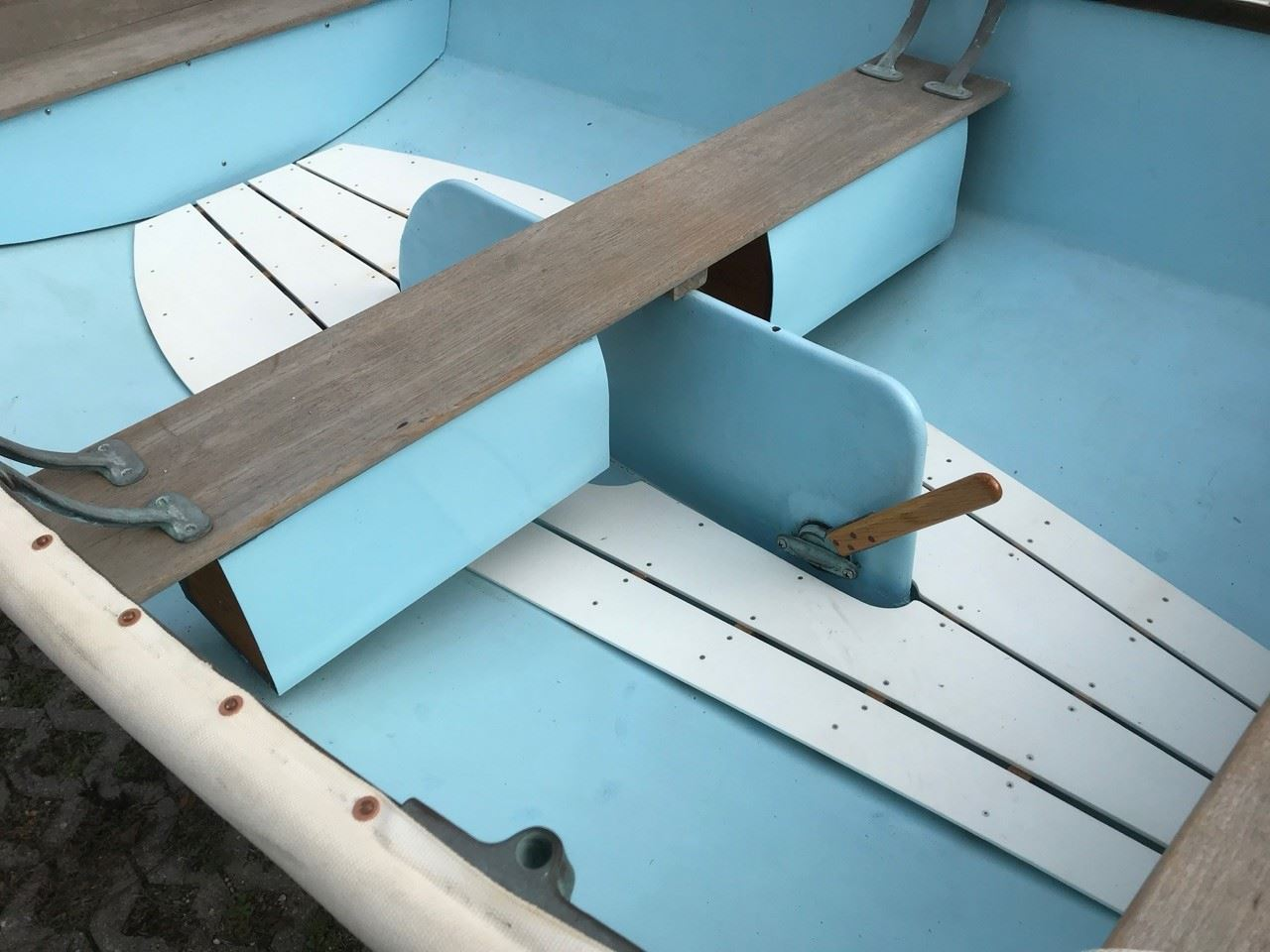 Dyer Dhow dinghy with sailing rig - 2